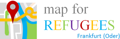 Map for refugees